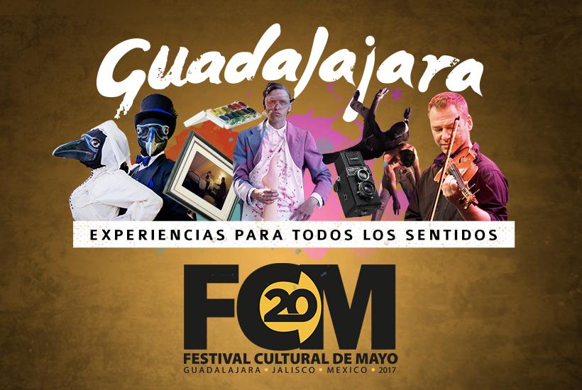 Festival Cultural de Mayo. Experiencias para todos los sentidos.
