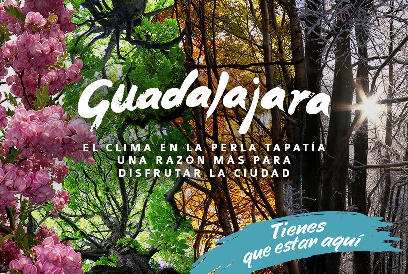 El clima de Guadalajara, una razón más para disfrutar la ciudad.