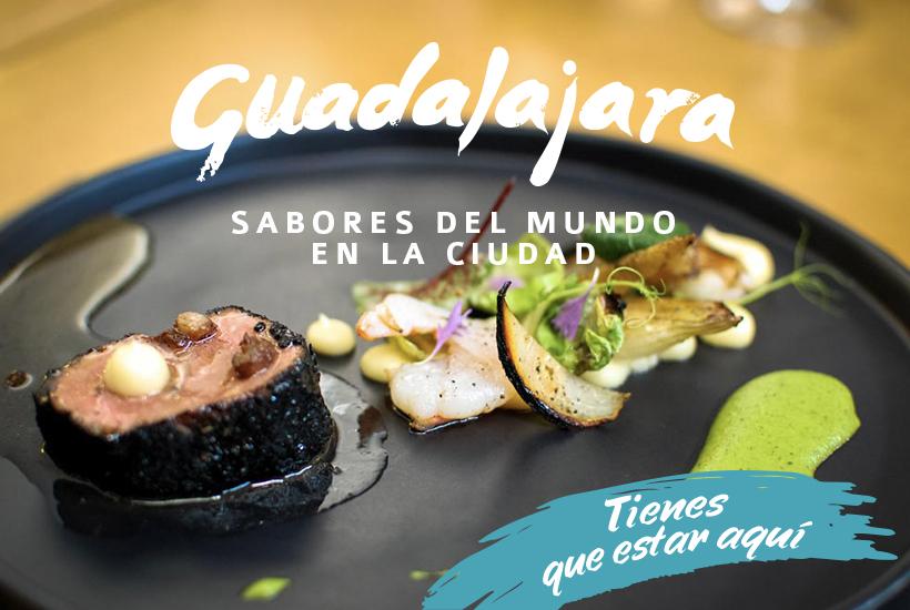 Sabores del mundo en Guadalajara.