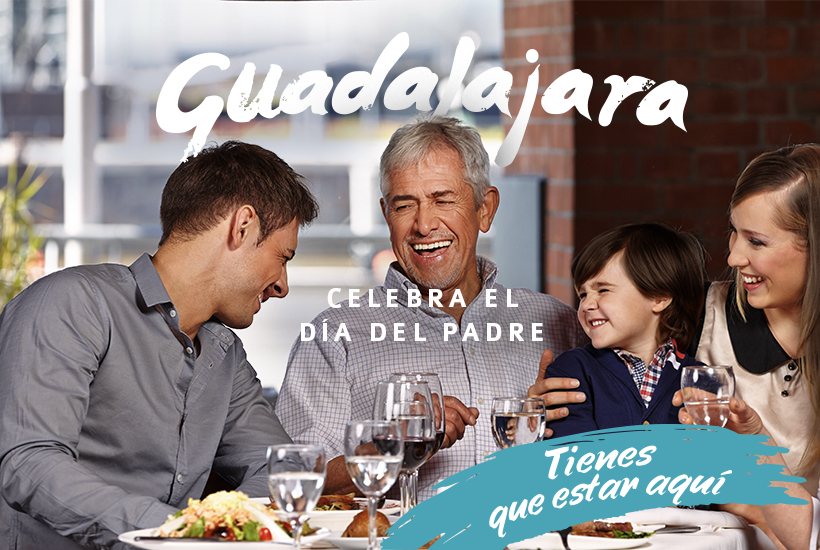 Festeja a papá en Guadalajara