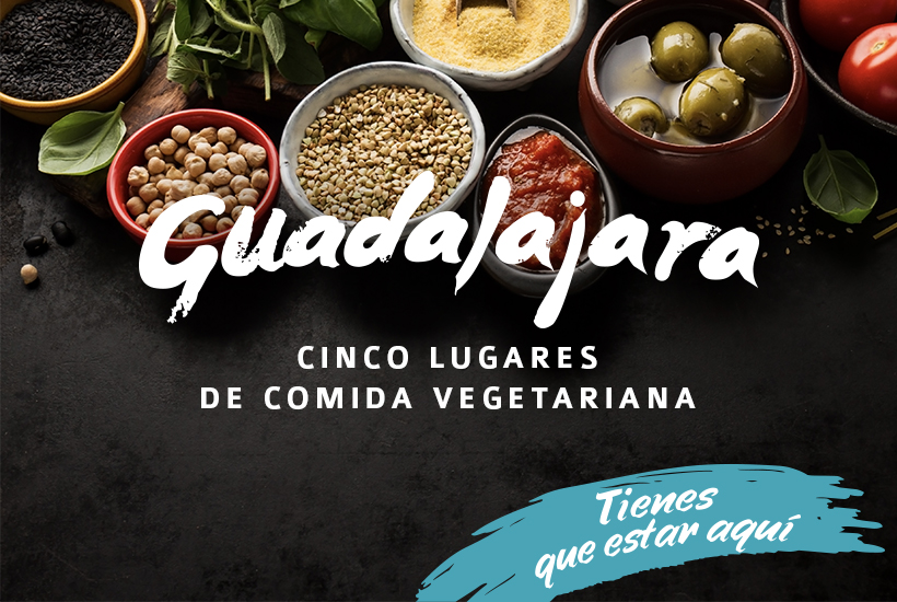 Cinco lugares de comida vegetariana y vegana