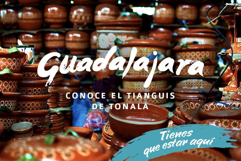 El Tianguis de Tonalá, artesanías y tradición