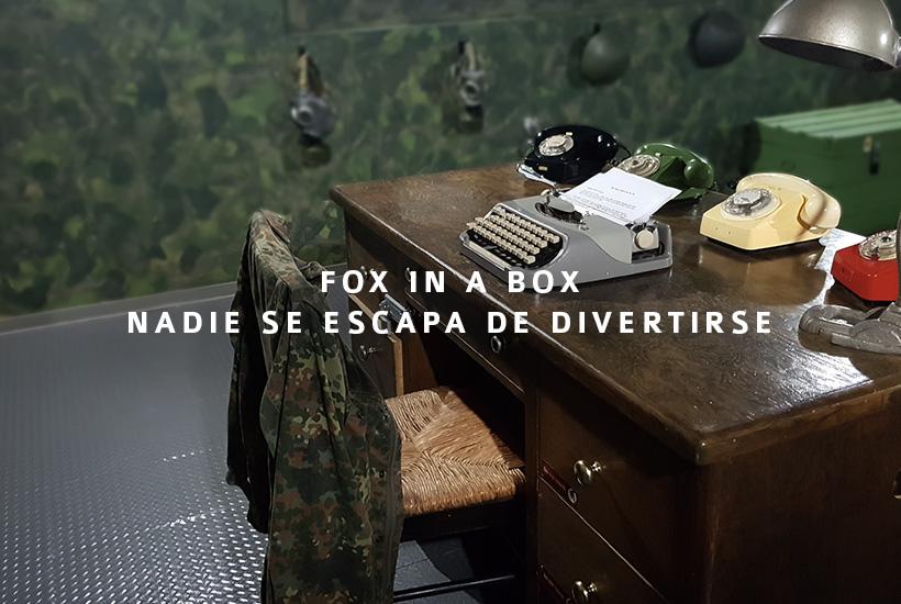 Fox in a Box, diversión de la que nadie se escapa