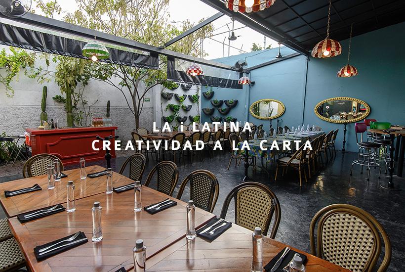 La I Latina, creatividad a la carta