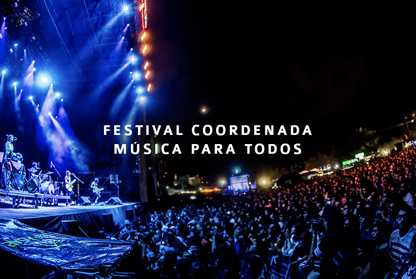 Festival Coordenada, música para todos