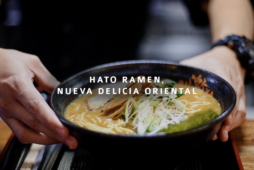 Hato Ramen, nueva delicia oriental