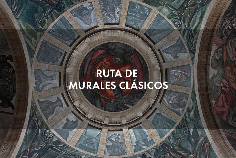 Ruta de murales clásicos de Guadalajara