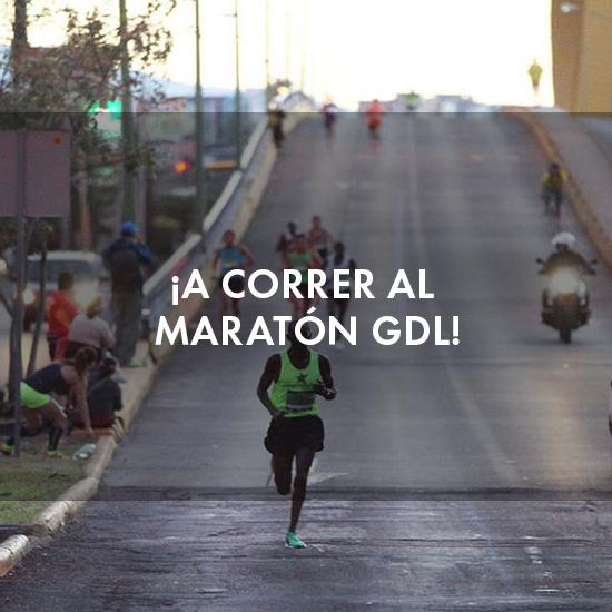 ¡A correr al Maratón GDL!