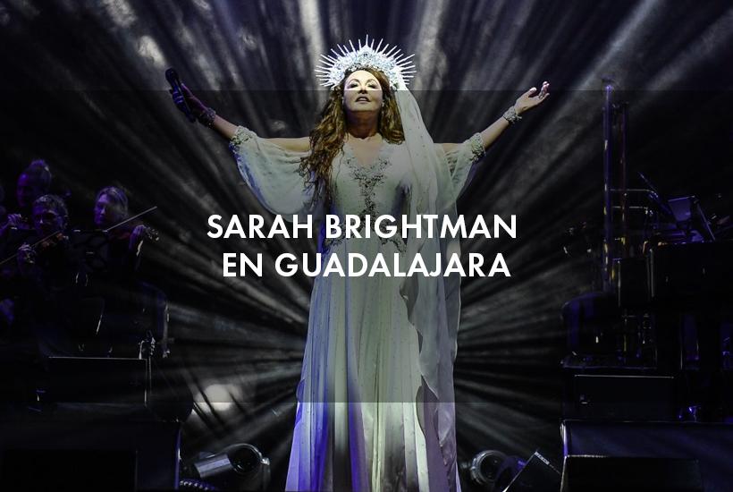 Sarah Brightman en Guadalajara