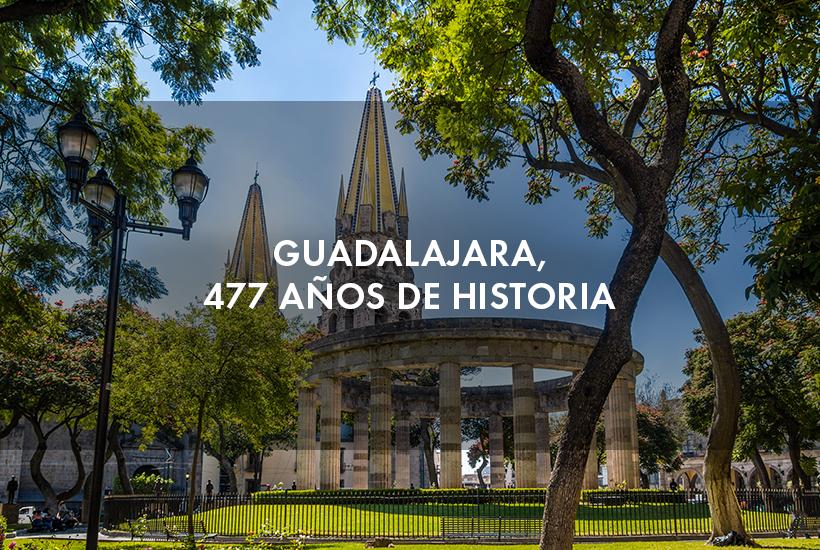 Guadalajara, 477 años