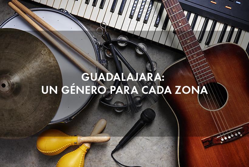 Guadalajara: un género para cada zona