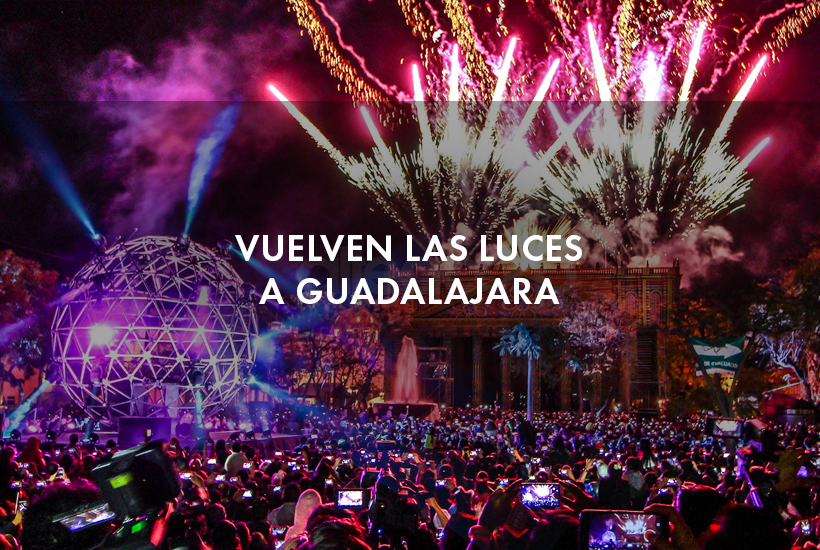 Regresan las luces a Guadalajara