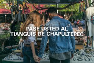 Pase usted al Tianguis de Chapultepec