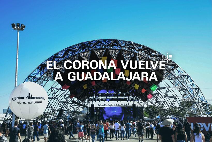 El Corona vuelve a Guadalajara