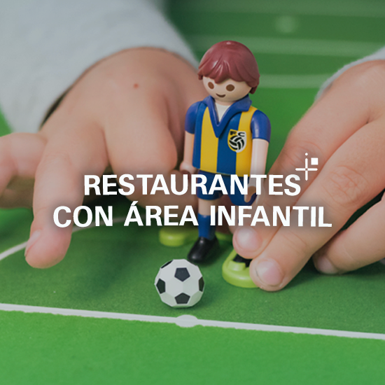 Restaurantes con área infantil