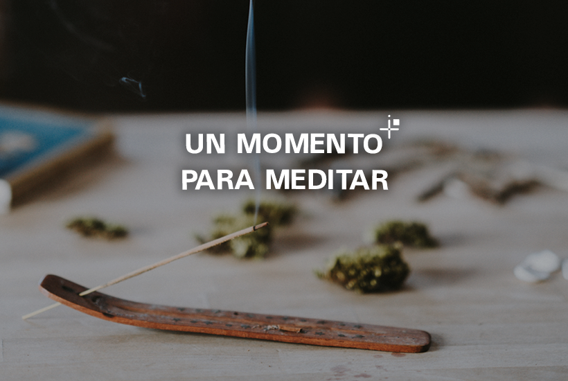 Un momento para meditar