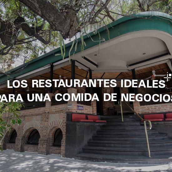 Los restaurantes ideales para una comida de negocios