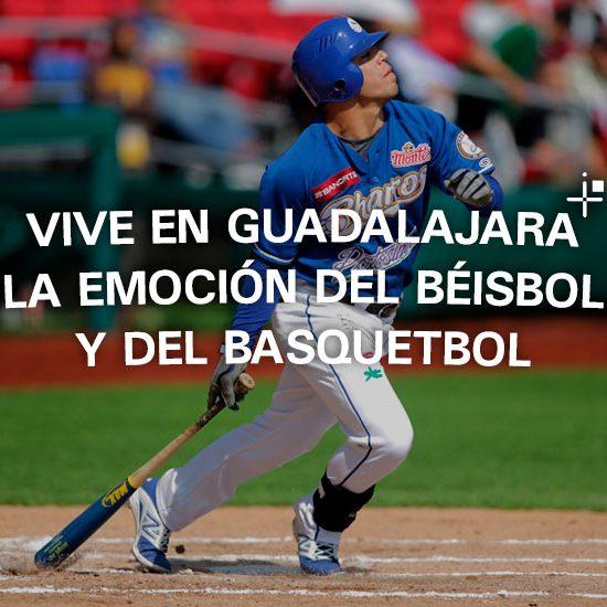 Vive en Guadalajara la emoción del béisbol y del basquetbol