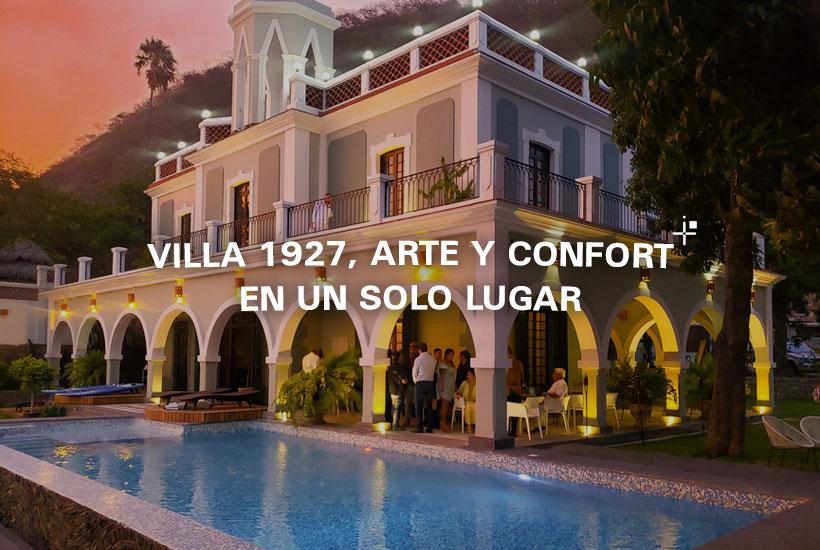 Villa 1927, arte y confort en un solo lugar