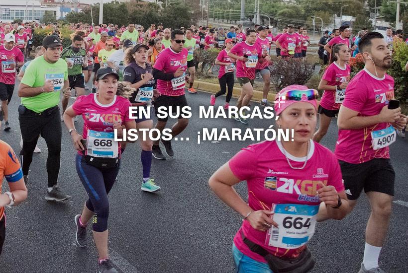 En sus marcas, listos... ¡Maratón!
