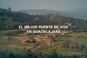 El mejor puente se vive en Guadalajara