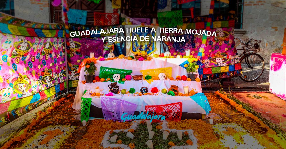 Guadalajara huele a tierra mojada y esencia de naranja